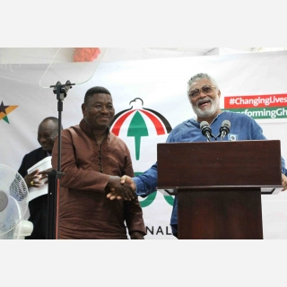 Accept criticism in good faith - Rawlings tells NDC